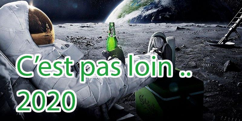 2020: Ouverture de vols réguliers pour la lune!