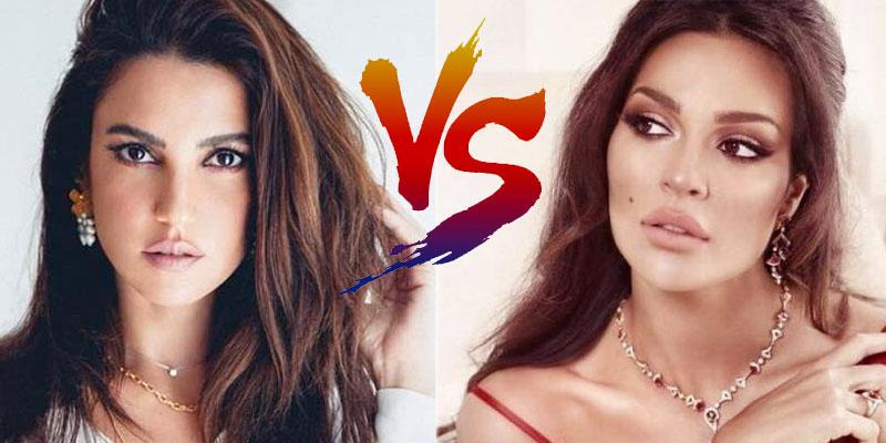 En photos : Dorra Zarrouk VS Nadine Njeim, quel look préférez-vous ?