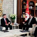 رئيس الحكومة يلتقي سفير الولايات المتحدة الامريكية بتونس