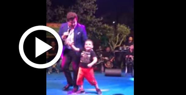 En vidéo : Un jeune garçon surprend les spectateurs en dansant avec Walid Toufic