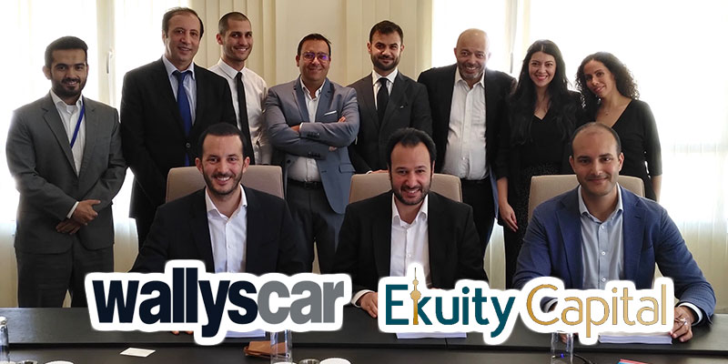 Wallys car lève 10 millions de dinars tunisiens auprès d'Ekuity Capital