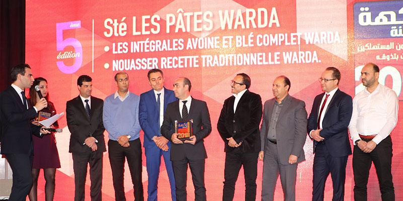En vidéo : Les PÂTES WARDA lauréates des Saveurs de l'Année 2018