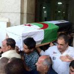 Obsèques de la défunte Warda El Djazaïria