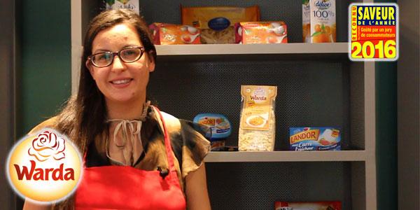 Le produit Nouasser de Warda présent à l'atelier Découverte des Saveurs de l'Année 2016
