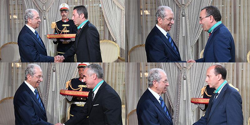 رئيس الجمهورية يمنح الصنف الثاني من وسام الجمهورية لثلة من الإطارات العليا من قوات الأمن الداخلي