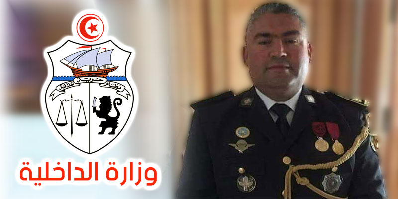 Le colonel major de police Sofiène Zâag nouveau porte-parole du ministère de l'Intérieur