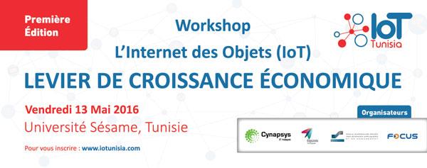 WorkshopL'Internet des Objets, Levier De Croissance Economique