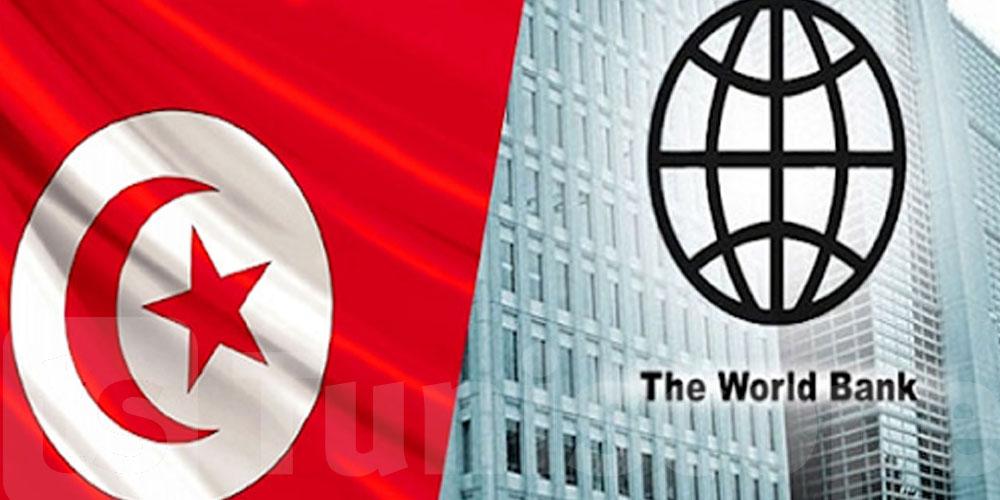 La Banque mondiale débloque 100 millions de dollars au profit de la Tunisie pour...