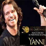 Concerts de Yanni : Les portes du théâtre antique de Carthage ouvertes à partir de 19h, aujourd'hui et demain