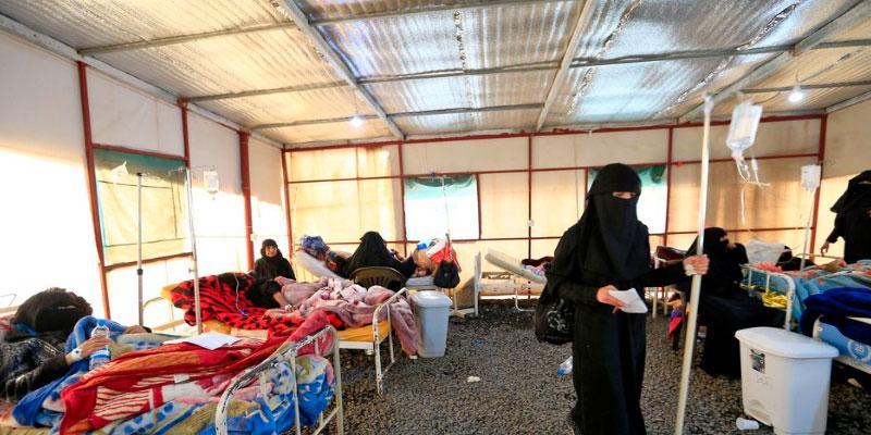 Près de 110.000 cas présumés de choléra depuis janvier au Yémen