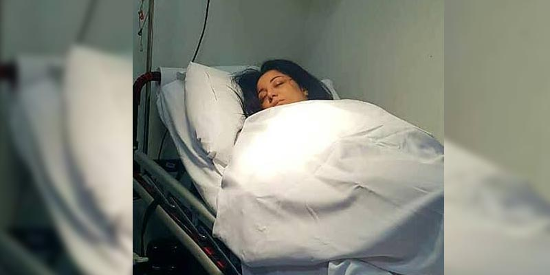 بالصورة: بعد حفلها في قرطاج، يسرى محنوش تتعرض لازمة صحية
