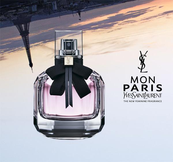 Lancement de la nouvelle fragrance féminine « MON PARIS » d'YSL