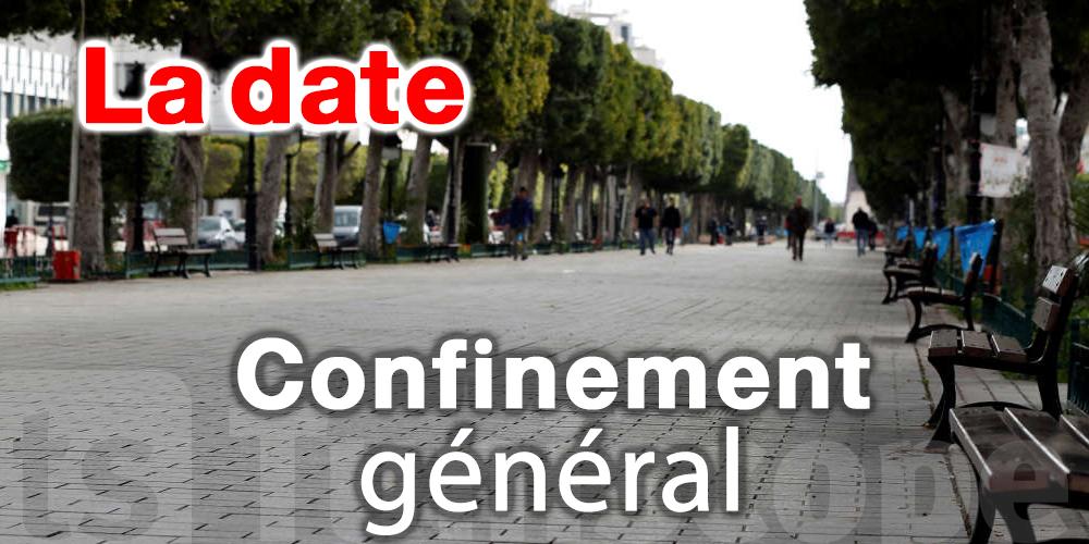 Tunisie-Coronavirus : La date du confinement général selon Bouguirra