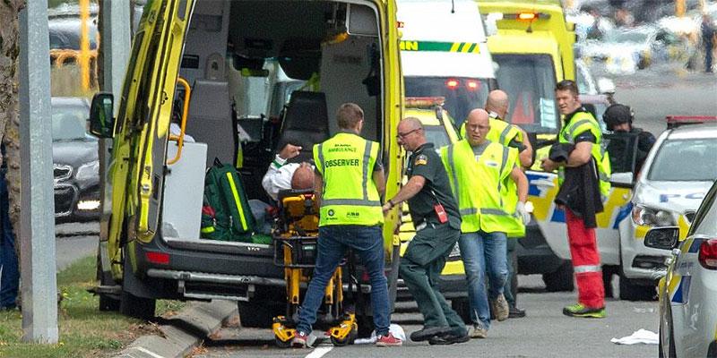 لأول مرة في نيوزيلندا, دوريات مسلحة بعد مذبحة المسجدين