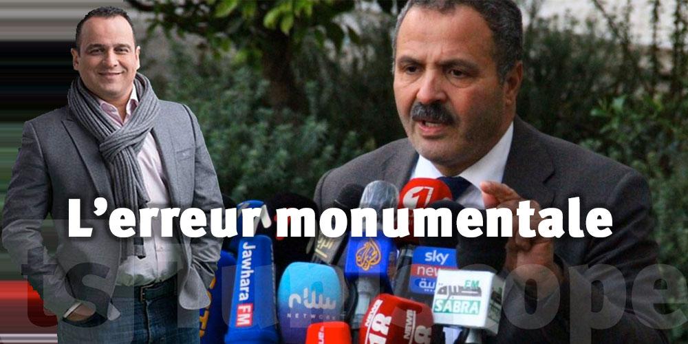 Pour Mourad Zeghidi, le limogeage de Abdellatif Mekki est une erreur monumentale