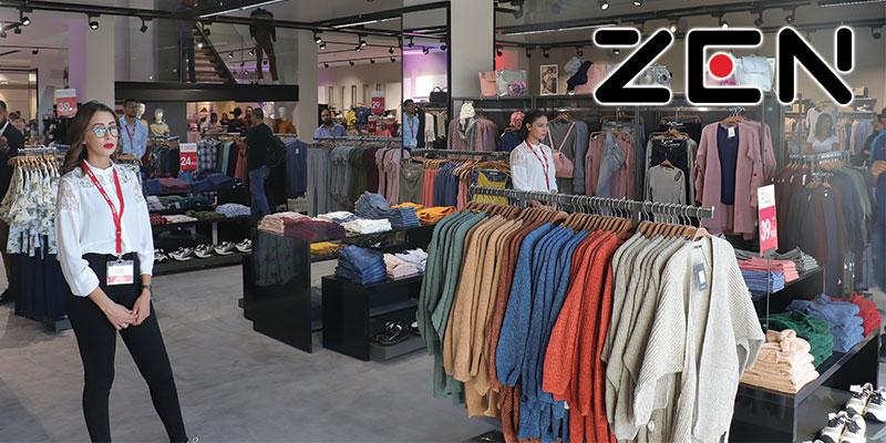 En vidéo : ZEN ouvre son nouveau Magasin à TUNIS CITY