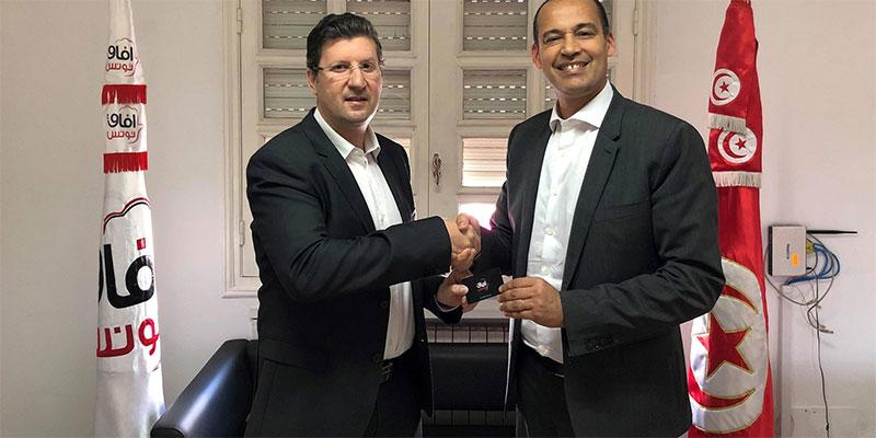 زياد اللومي يلتحق بحزب آفاق تونس