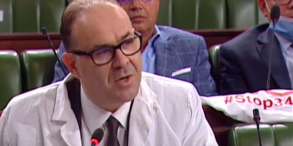 En vidéo : Le député Mohamed Sadok Gahbiche porte sa blouse blanche