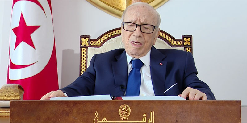بالفيديو، رئيس الجمهورية يتحدث للتونسيين لأول مرة بعد أزمة مرضه