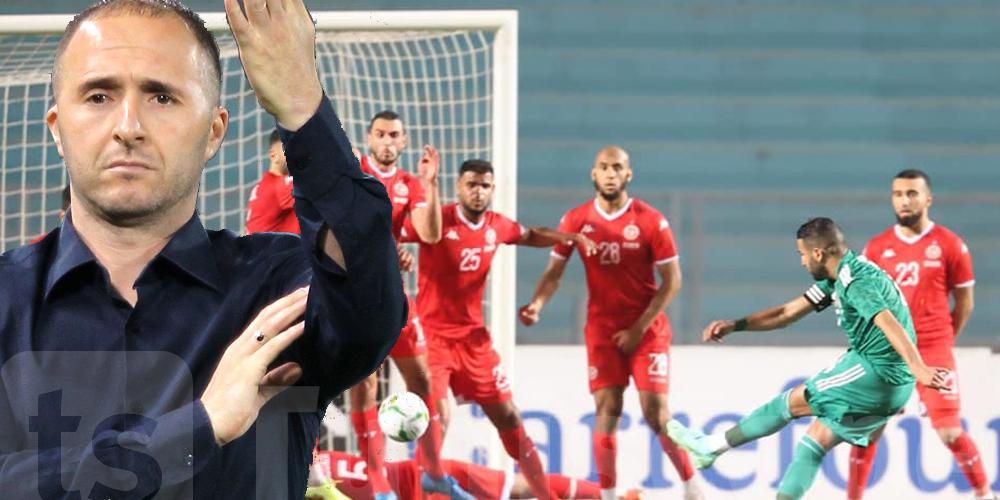 جمال بلماضي يعلق على مستوى المنتخب التونسي
