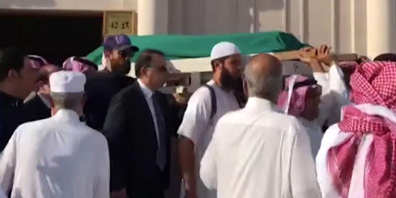 بالفيديو : تشييع جثمان زين العابدين بن علي
