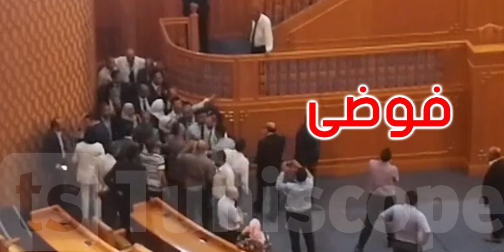بالفيديو، مباشر فوضى في مجلس نوب الشعب