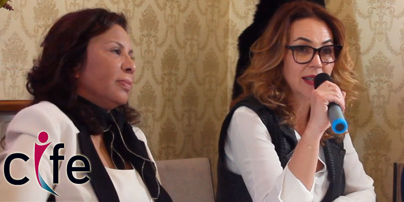 Conférence de presse autour du Forum Africain CIFE : Allocution de Mme Donia Hamouda