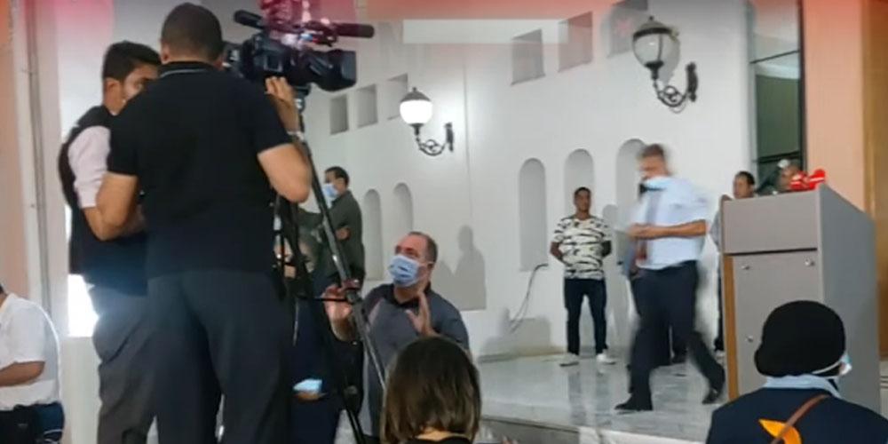 بالفيديو: كواليس الكلمة التي ألقاها رئيس الجمهورية من سيدي بوزيد