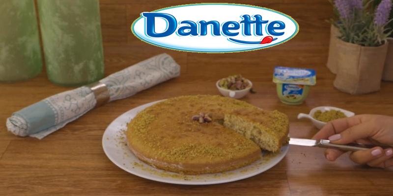 Gâteau à la Danette Saveur pistache