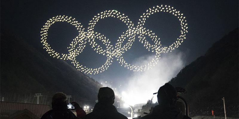 1200 drones illuminent le ciel des Jeux olympiques de Pyeongchang