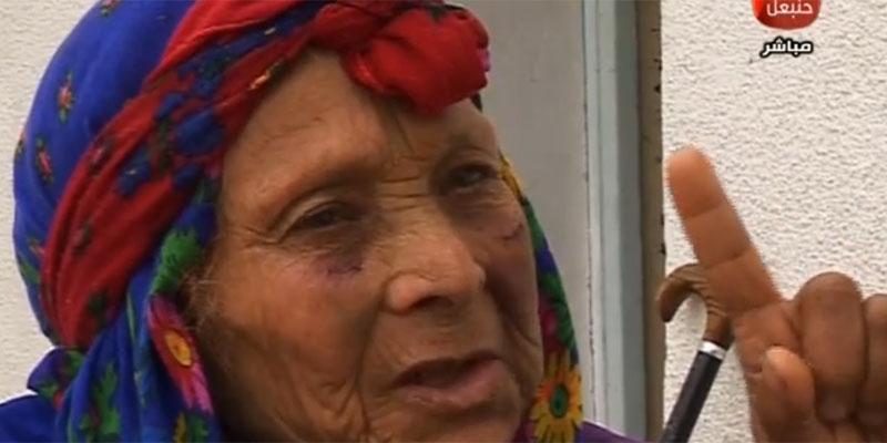 فيديو صادم : مسنّة زغوان تروي تفاصيل الإعتداء عليها