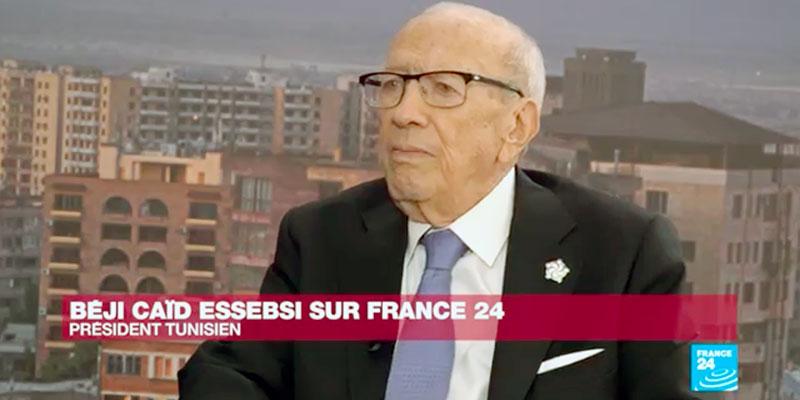 En vidéo : Interview exclusive de Béji Caid Essebsi sur France 24
