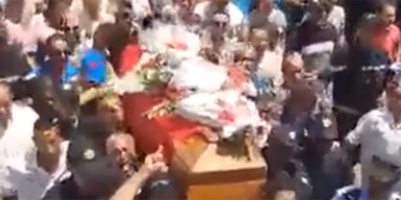 بالفيديو :  جنازة مهيبة للشهيد أنيس الورغمَّي برادس