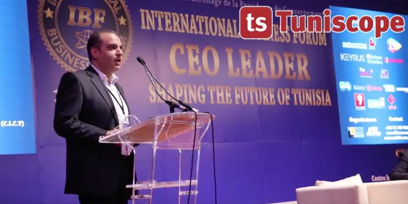 Mot d'ouverture de Kais Saoudi à l'International Business Forum