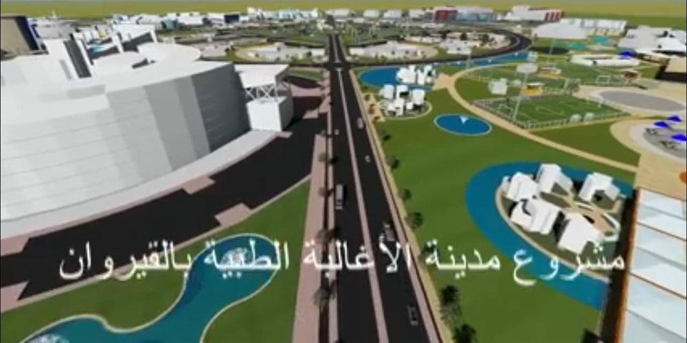 بالفيديو.. المرور رسميا إلى المرحلة الثانية من إنجاز مدينة الأغالبة الطبية