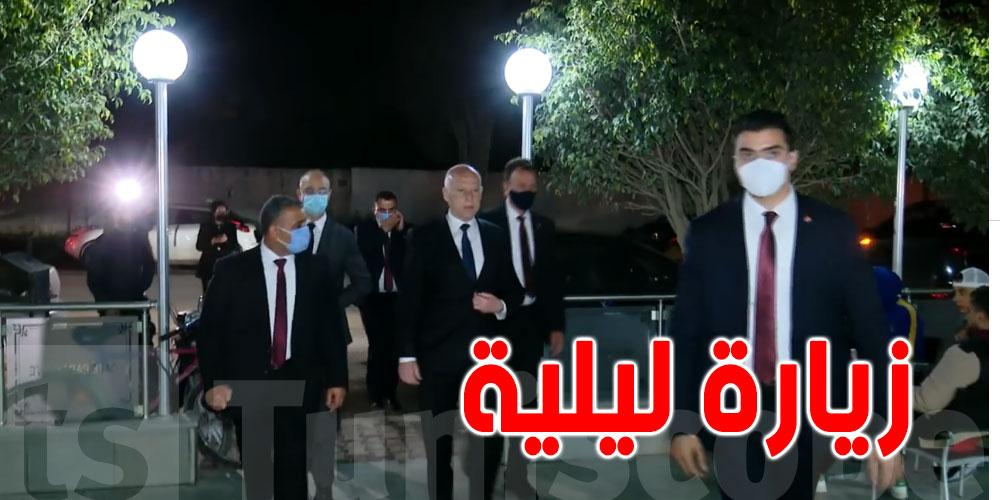 بالفيديو..زيارة رئيس الجمهورية لحي التضامن و المنيهلة