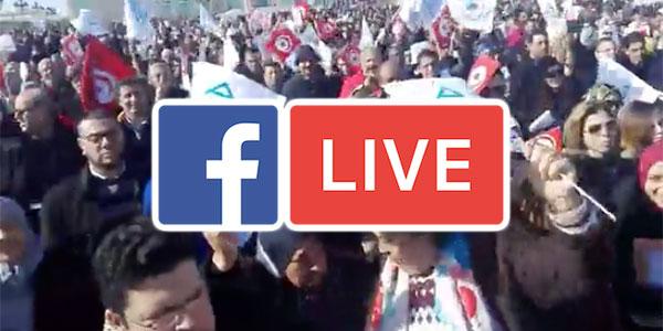 بالفيديو : اضراب المهندسين مباشرة من القصبة