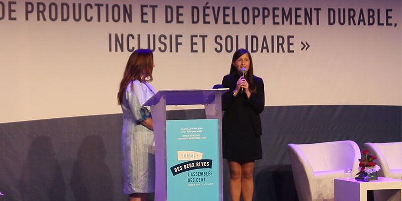 ASSEMBLÉE DES CENT : INTERVENTION DE MME MARIE PHILIPPE CONSEILLÈRE DU PRÉSIDENT FRANÇAIS