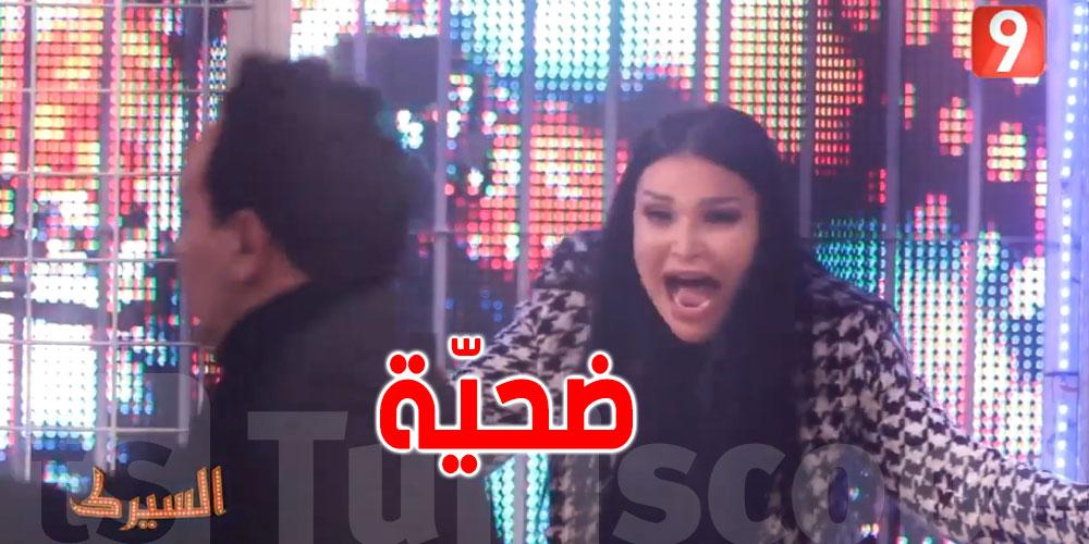 بالفيديو .. نجلاء التونسية ضحيّة علاء الشابي