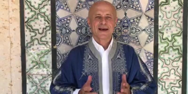 باللهجة التونسية: سفير فرنسا يهني التوانسة بالعيد ''أنا معجب بذكاء التونسي''