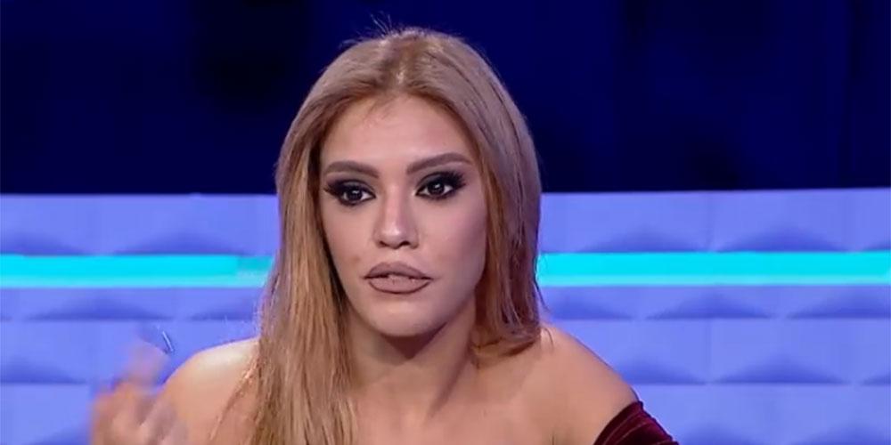 صابرين معاوي توضح حقيقة تبادل العنف مع أساور بن محمد