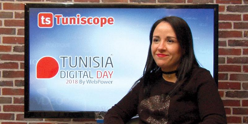 En vidéo : Mme Bahia Nar parle de sa participation à l'évènement Tunisia Digital Day 2018