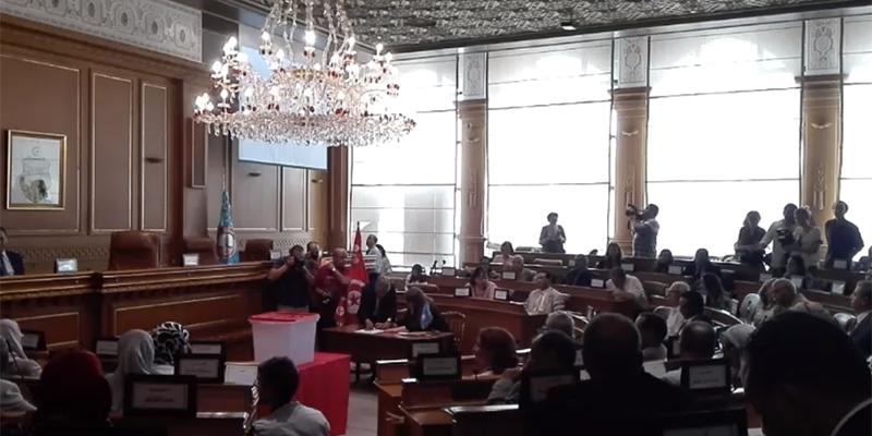 مباشر : جلسة إنتخاب رئيس بلدية تونس
